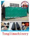 Eficiente de la máquina miscanthus la fabricación de briquetas de carbón vegetal/aserrín carbón de leña estufa de carbonización