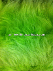 XCL 2013 New fashion faux/fade fur with bright colours