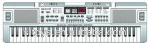 61 Keys Plastic Electronic Music Organ with FM Radio MQ-011FM