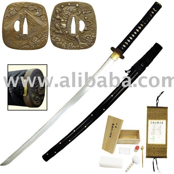 Feito à mão katana, Espada Samurai