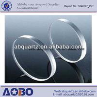clear quartz substrate/quartz glass wafer carrier/quartz wafer