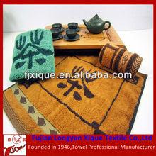 100% jacquard cotton tea towel