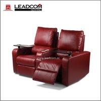 (LS-813) Hot sale leather cinema sofa chairs