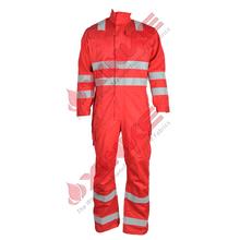 orange cotton nylon FR coverall meet IEC61482 standards