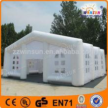 Impresión personalizada inflable exterior toldos de marca plegable gazebo