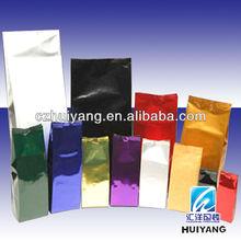 TOP QUALITY Safety Food Grade Gravure printed food packaging plastic black Tea bags