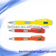LCD watch pen/ball pen with watch/clock pen