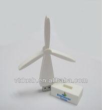 Windmill shape pens stick usb pvc Windmill Cartoon USB Flash Drive drive gift custom pen keys