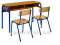 venta al por mayor de china madera mobiliarioescolar escritorio y una silla infantil para estudiante