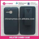 rubberized PC case for Alcatel OT5020 funda clip case