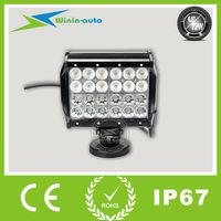 6.5inch 72W high Lumen LED driving light bar for 4x4 6000 Lumen WI9041-72