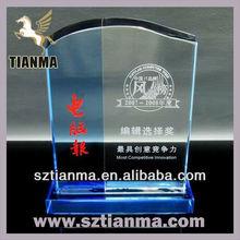 Wholesale handicraft crystal trophy
