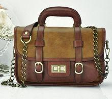 The newest, classic, fashion hard trend leather shoulder handbag
