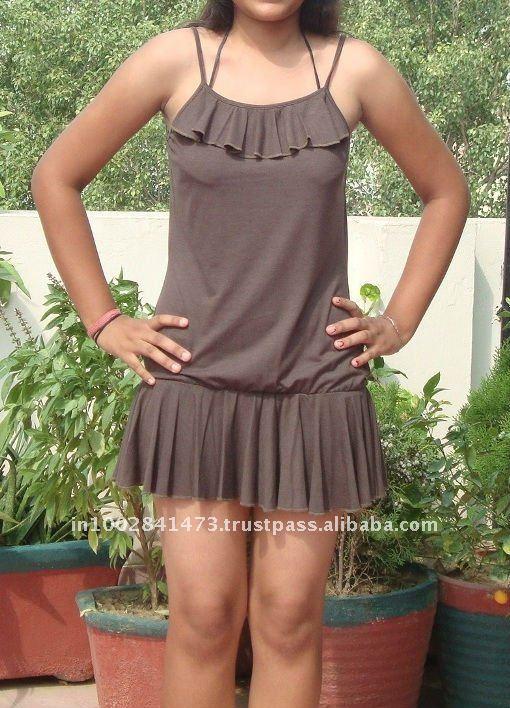 Girls Casual Mini Dress