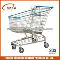 Metalldraht einkaufswagen/einkaufswagen service