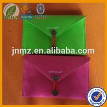 Wool felt pencil pouch, zipper wool felt pencile box, woll felt pencil bag shijiazhuang manufacturer