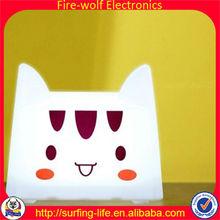 Cat night light.Cat night light manufacture.Save energy cat night light factory