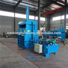 Hydraulic vertical nature fiber baling machine