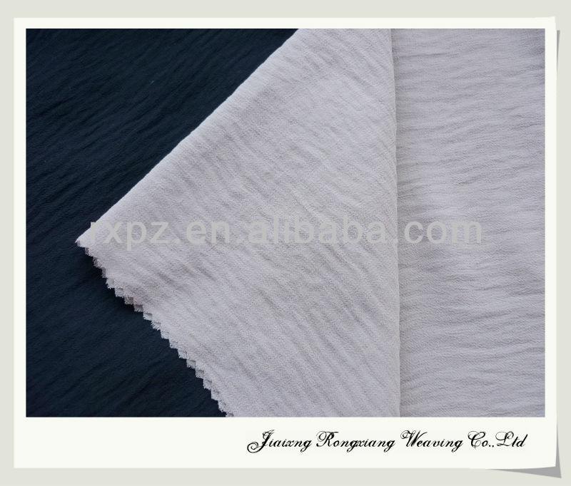 keqiao ITY chiffon in washing effect shaoxing ity chiffon fabric