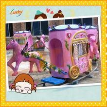 Amusement playground electric train/Park rides pioneer train/Children games pioneer train