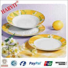 2014 Germany Dinner Set Porcelain/18Pcs Porcelain Dinnerware Set/Round Arcopal Dinnerware