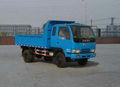 dongfeng luz 4x2 diesel de descarga de camiones para la venta