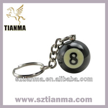 Customized resin promotional products of key chain