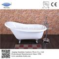 Baby vasca da bagno, piccole dimensioni freestanding cast vasca di ferro