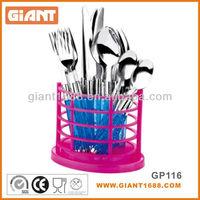 16pcs plastic dinnerware set