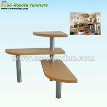 Decorative wooden modern kitchen shelves KS-451337