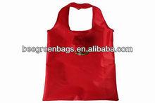 Promotion nylon foldable rose shopping bag