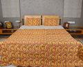 King-size-baumwolle quilt, block drucken indisch gesteppte bettdecken