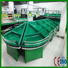 2013 new products fruit vegetable display rack With interlayer of cost performance With CE certification Show foods Usage