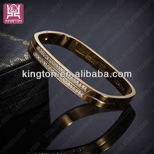2013 new products imitation diamond gold bracelet