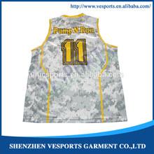 100% polyester new season basketball jerseys manufacturer
