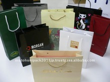 Japanese - made High quality Customized paper bags with handles wholesale