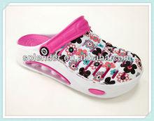 beautiful eva garden shoes nude slippers women air hole sandals