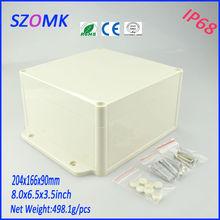 plastic enclosure electronic waterproof plastic case