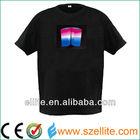 Beautiful!!! led tshirt panel,led light up t-shirts panel,light color change t-shirts panel