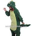 Caliente venta de carácter de los animales dinosaurio cosplay adulto polar monos de pijama/ropa de dormir