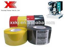 high quality black colour 30mm*122m hot stamping foil for PVC,OPP,SAN,PET,PC,PP,Plastic.