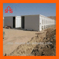 Flat pack container house for construction site