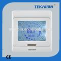 Tekaibin e91.50 piezas de aire acondicionado conductos de ventilación de auto termostato táctil- pantalla blanco fcu de aire acondicionado
