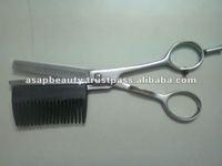 Comb teeth scissors