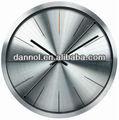 12 inç yuvarlak tabanlı yüksek kaliteli alüminyum duvar saati alüminyum kadran yüz/hediye- donanım-- Beyler