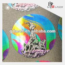 Custom Hologram, Paper printing anti-counterfeiting holographic sticker hologram