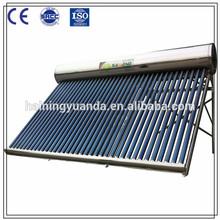 2015 new design Stainless steel Compact non-pressurized solar water heater , solar boiler & solar geyser