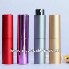 2014 5ml new design refillable pocket sized perfume spray bottle for travel