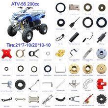 ATV parts Scooter parts Moped Parts Motorcycle Parts CG/CB/CG/GY6 50/70/90/110/125/200/250cc all parts available ATV-56 200cc