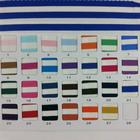 "65"" wide 190g/sqm knit 0.3"" blue and white cotton stripe stretch fabric"